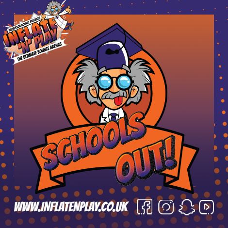 End of Year Parties Available at Inflate 'N' Play Blackpool!